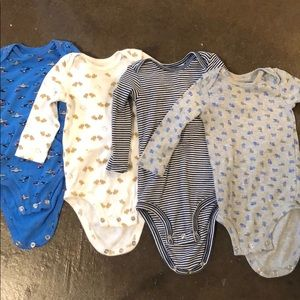 Long sleeve body suits